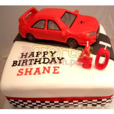 Torta Auto Veloz | Tortas con Autos | Tortas de Carros - Whatsapp: 980-660044