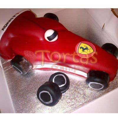 Torta Ferrari F1 | Tortas con Autos | Tortas de Carros - Cod:WAU13