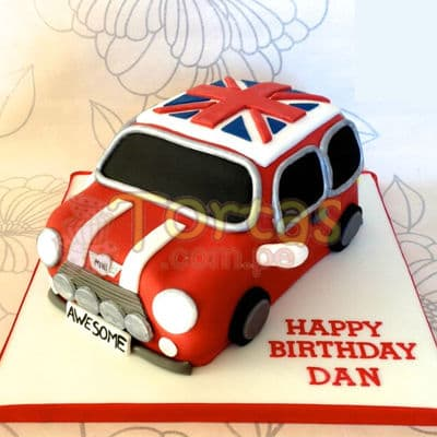 Torta Mini Cooper- Whatsapp: 980-660044