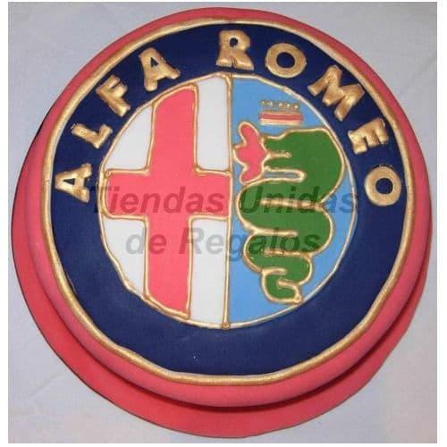 Torta Alfa Romeo - Cod:WAU21