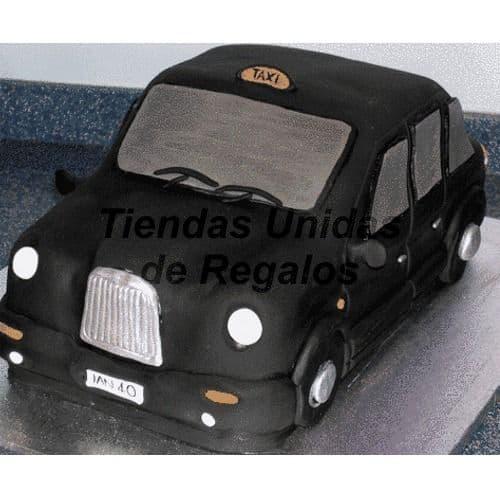 Torta Auto Ingles - Cod:WAU22