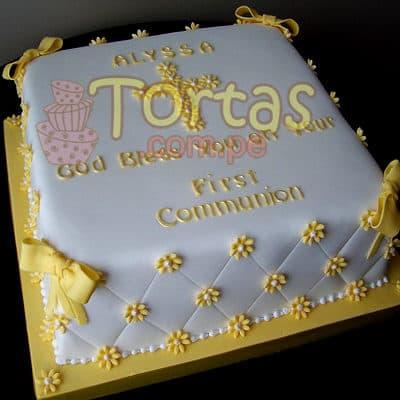Tortas de Bautizo |  Bautizo/Comunion 21 - Cod:WBC21
