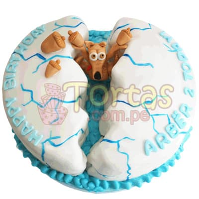 Torta Era del hielo | Tortas de niños - Cod:WBE04