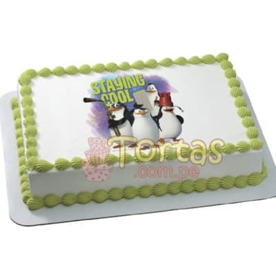 Torta Pinguinos - Whatsapp: 980-660044