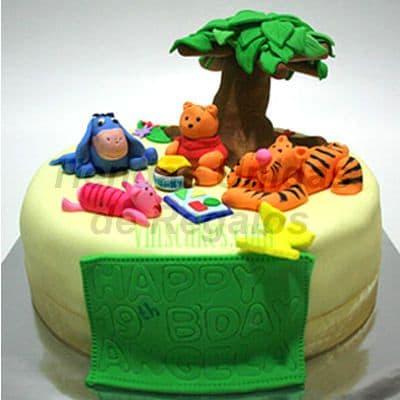 Torta Winnie Pooh | Delivery de de Tortas en Lima | Tortas a Peru - Cod:WBE24