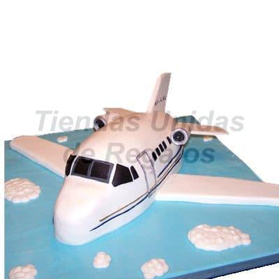 Torta em forma de avion | Delivery de de Tortas en Lima | Tortas a Peru - Cod:WBE30