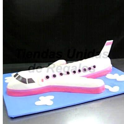 Torta de Avion 3d - Whatsapp: 980-660044