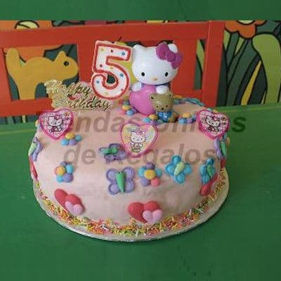 Torta Hello Kitty Bebe - Whatsapp: 980-660044