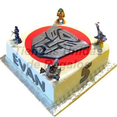 Torta Transformers - Whatsapp: 980-660044
