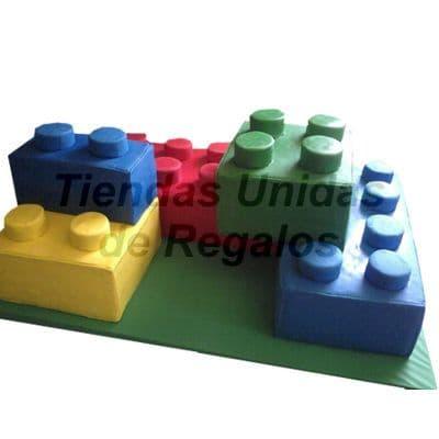 Torta Lego 3D | Delivery de de Tortas en Lima | Tortas a Peru - Cod:WBE44