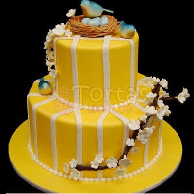 I-quiero.com - Torta Ni�a 55 - Codigo:WBE55 - Detalles: Delicioso queque De Vainilla   decorada finamente en masa el�stica.Med. 1er Nivel 25Cmt, 2do Nivel 15Cmt de diametro.  - - Para mayores informes llamenos al Telf: 225-5120 o 476-0753.