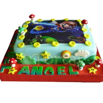 Torta Mario Bros 85 - Whatsapp: 980-660044
