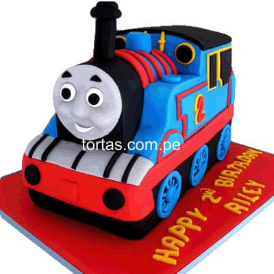 Torta Thomas Train | Delivery de de Tortas en Lima | Tortas a Peru - Whatsapp: 980-660044