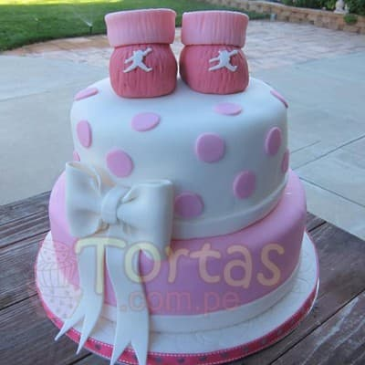 Torta Baby Shower 12 - Whatsapp: 980-660044