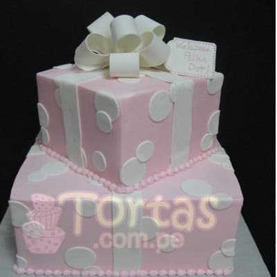 Torta Baby Shower 13- Whatsapp: 980-660044