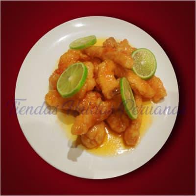 Pollo Limonkay con Pollo con Frejolito | Chifa a Delivery | Chifa platos a la Carta - Cod:WCB04