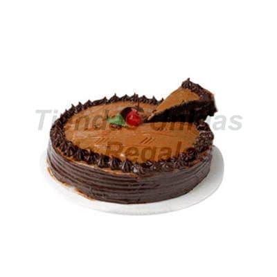 lafrutita.com - Pastel de Chocolate  - Codigo:WCH05 - Detalles: Delicioso Queque de Chocolate relleno con manjar blanco ba�ado por encima con chocolate y decorado con una exquisita ceresa.Mide 25cm de diametro. Rinde 25 porciones, - - Para mayores informes llamenos al Telf: 225-5120 o 476-0753.