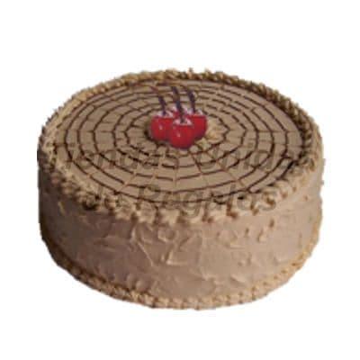 lafrutita.com - Torta Chocolate con Fosh - Codigo:WCH06 - Detalles: Delicioso Queque de Chocolate relleno de manjar blanco, ba�ado por encima con chocolate y decorado con 3 exquisitas ceresas.Mide 25cm de diametro. Rinde 25 porciones. - - Para mayores informes llamenos al Telf: 225-5120 o 476-0753.