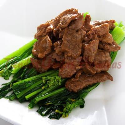 Carne de Res con Salsa Balsamina | Chifa por Delivery | Chifas en Miraflores Delivery - Cod:WCR04