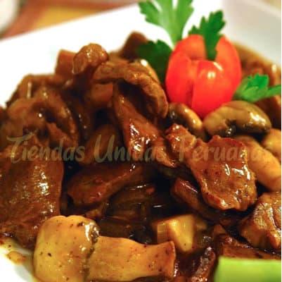 Carne de res y Champiñones | Chifa por Delivery | Chifas en Miraflores Delivery - Cod:WCR06
