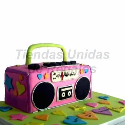 Torta Radio Vintage para mujer - Cod:WDA05