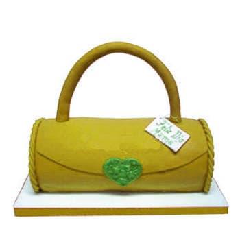 Torta Cartera - Codigo:WDA12 - Detalles: Exquisito keke De Vainilla con manajarblanco, decorada con Masa Elastica en forma de Cartera. Modelada en keke 20cm de largo x 10cm de ancho - - Para mayores informes llamenos al Telf: 225-5120 o 4760-753.