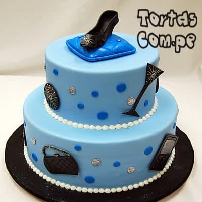 Tortas Delivery | Torta Zapatos para dama - Whatsapp: 980-660044