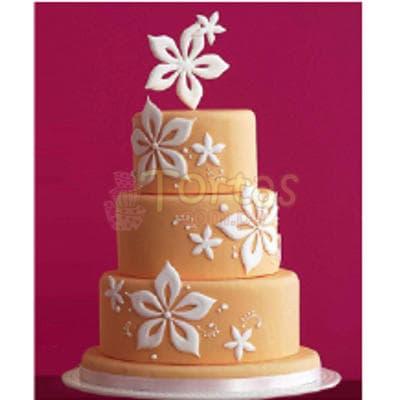 Torta Dama 18 - Codigo:WDA18 - Detalles: Deliciosas  torta  ,  decorado  finamente en masa el�stica, Med. 1er nivel 25Cmt de diametro,2do nivel 20Cmt de diametro,3er nivel 15Cmt de diametro. incluye. adornos en azucar. - - Para mayores informes llamenos al Telf: 225-5120 o 4760-753.