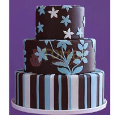 Torta Dama 19 - Codigo:WDA19 - Detalles: Deliciosas  torta  ,  decorado  finamente en masa el�stica, Med. 1er nivel 25Cmt de diametro,2do nivel 20Cmt de diametro,3er nivel 15Cmt de diametro. - - Para mayores informes llamenos al Telf: 225-5120 o 4760-753.