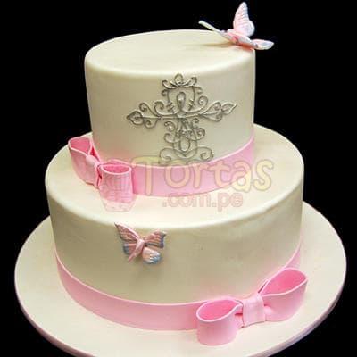 Torta Dama 20 - Codigo:WDA20 - Detalles: Deliciosas  torta  ,  decorado  finamente en masa el�stica,Med. 1 er nivel 20 cmt de diametro, 2do nivel 15 cmt de diametro.  - - Para mayores informes llamenos al Telf: 225-5120 o 4760-753.