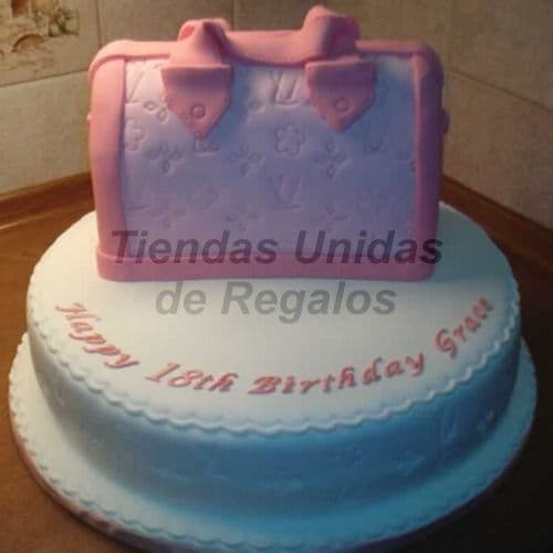 Tortas Delivery | Torta Dama redonda - Whatsapp: 980-660044