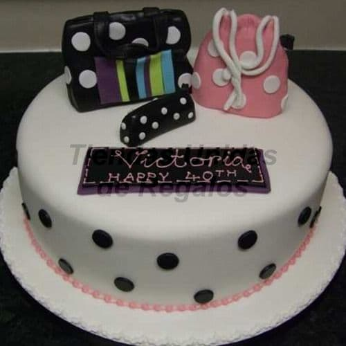 Torta Dama grande - Whatsapp: 980-660044