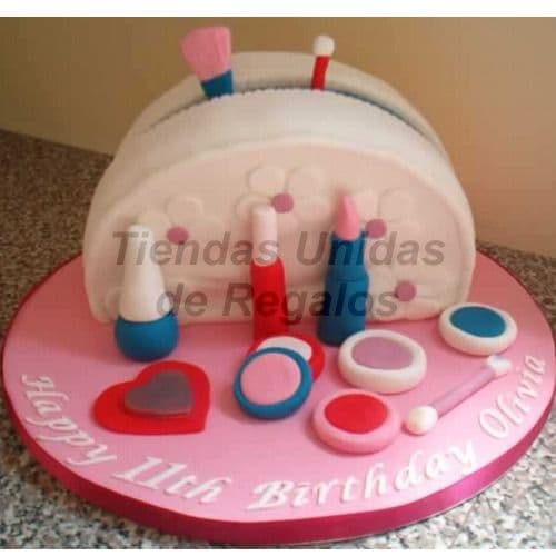 Torta Dama especial | Torta cumpleaños mujer | Pasteles para Mujer - Cod:WDA27