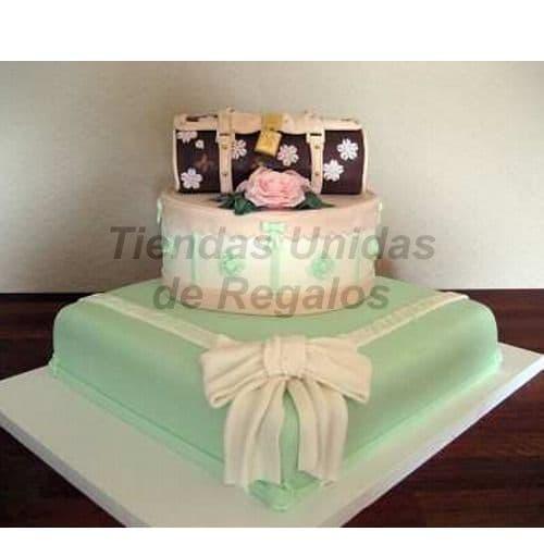 Torta de Dama | Torta cumpleaños mujer | Pasteles para Mujer - Cod:WDA29