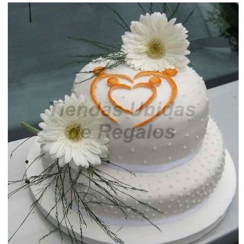 Torta Flores Delivery - Cod:WFL05