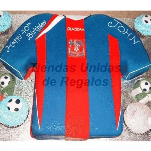 Torta Camiseta Barcelona FC - Cod:WFU08