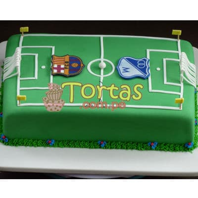 Torta Cancha de Football - Whatsapp: 980-660044
