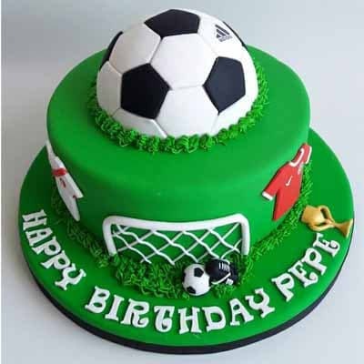Torta de FootBall con pelota - Whatsapp: 980-660044