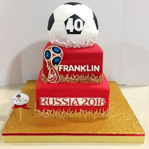 Torta Mundial | Tortas de Futbol - Whatsapp: 980-660044