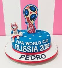 Torta Mundial Especial - Cod:WFU31