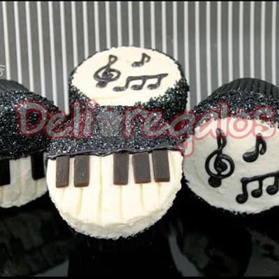 Dia de la Cancion Criolla - Cupcakes - Cod:WHL06