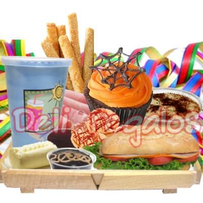Halloween | Desayuno en Bandeja | Halloween Regalos y Desayunos - Cod:WHL12
