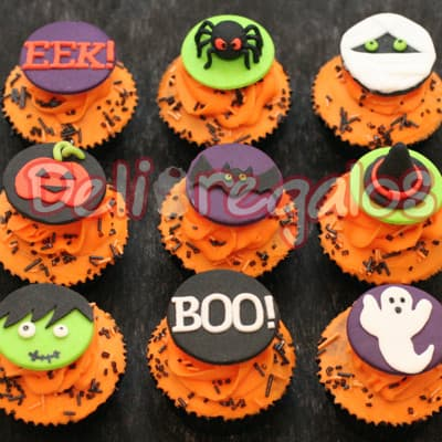 Halloween - Cupcakes - Whatsapp: 980-660044