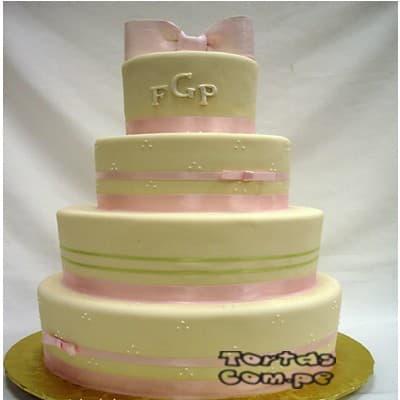 Tortas de Matrimonio | Tortas matrimonio | Tortas de Bodas | Torta para Bodas - Cod:WMA01