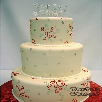 Torta Matrimonio 09 - Cod:WMA09