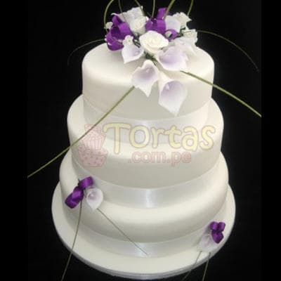 Torta Matrimonio 11- Whatsapp: 980-660044
