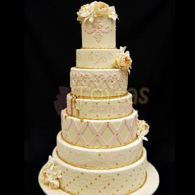 Torta Matrimonio 14 - Cod:WMA14