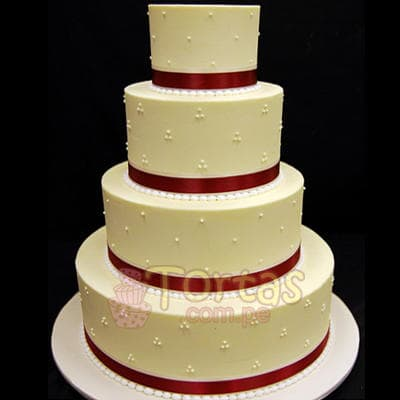 i-quiero.com - Torta Matrimonio 15 - Codigo:WMA15 - Detalles: Elegante Torta hecho a base de queque De Vainilla   y hecho finamente con masa el�stica para ese d�a tan especial. Rinde aprox. para 115 a 120 porciones, este producto se realiza con 15 d�as de anticipaci�n. Cualquier modificaci�n que desee hacer es previa coordinaci�n.    - - Para mayores informes llamenos al Telf: 225-5120 o 476-0753.
