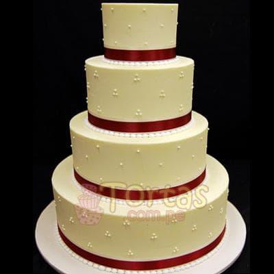 Torta Matrimonio 15 - Cod:WMA15