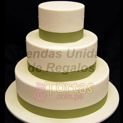 Torta Matrimonio 16 - Cod:WMA16